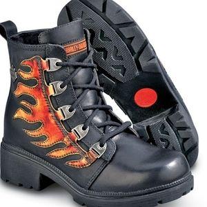 Harley-Davidson Flame Biker Boots